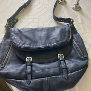 ⭐️Lowest$⭐️Like New! NAVY BLUE BAG VEGAN LEATHER